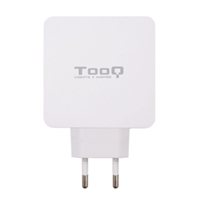 Tooq Cargador de pared doble USB-C PD+ USB A